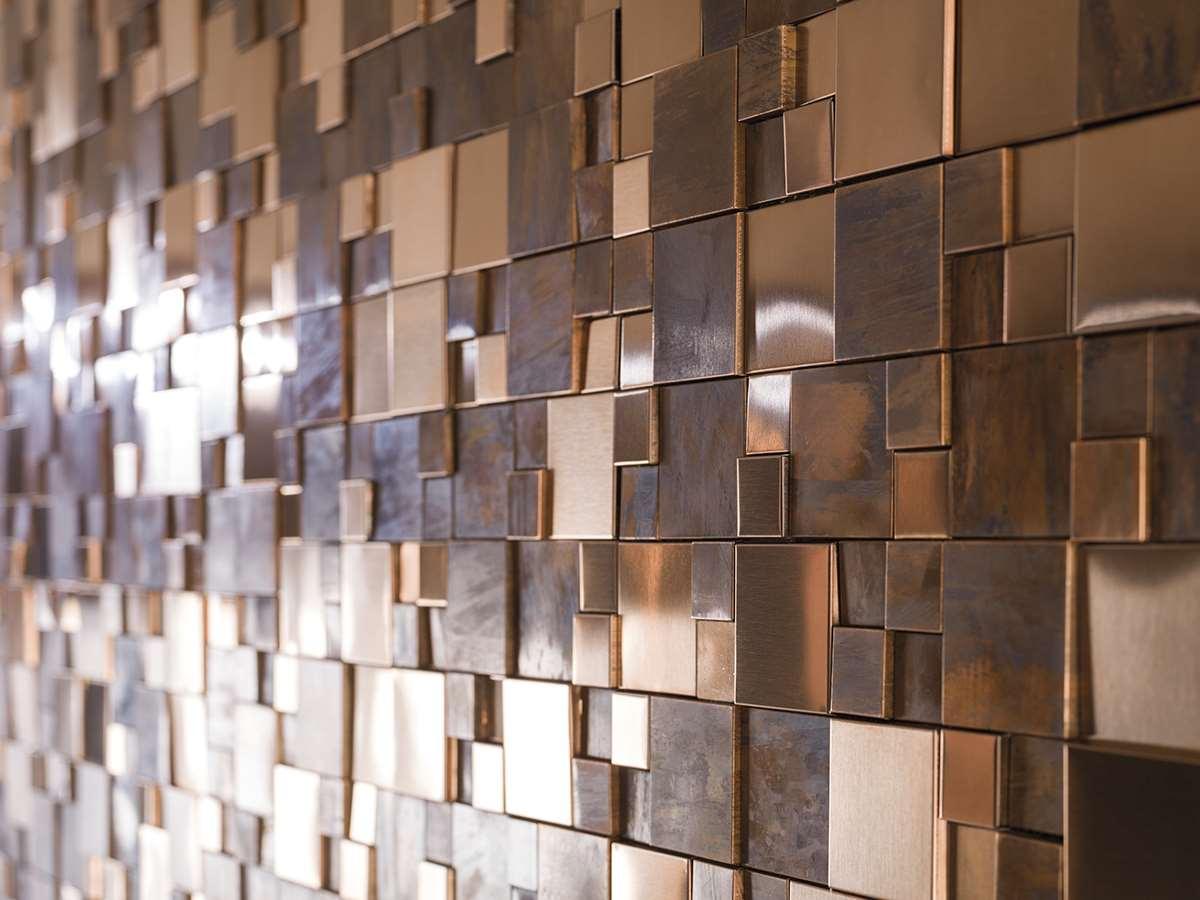 Mos-Metal-Bronce-Mini-3D-Cubes-Detalle