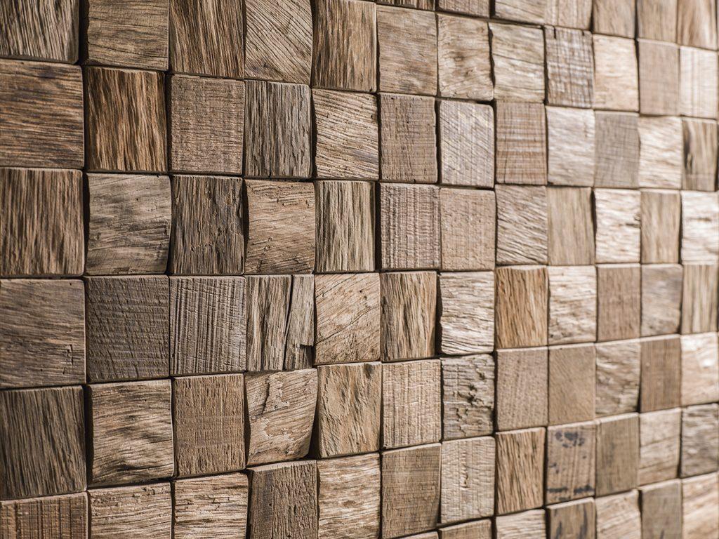 Mosaicos de madera natural, la decoración perfecta para el hogar