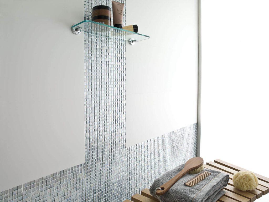 Decoración de mosaicos para baños