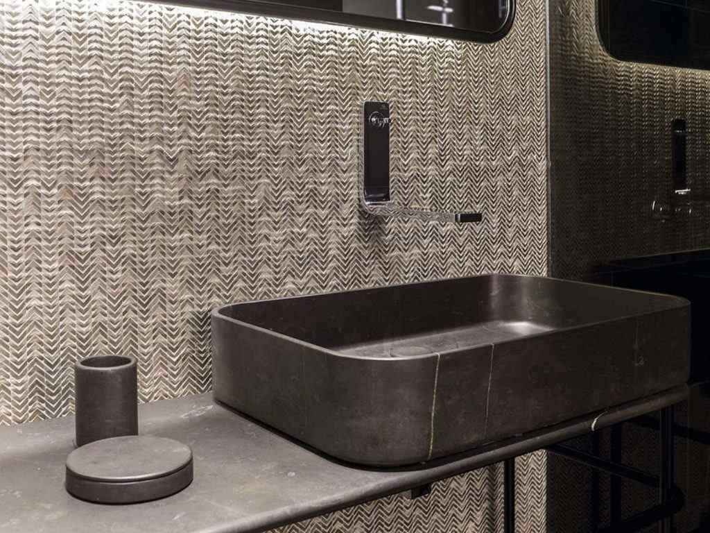 XVII ideas of mosaics for bathrooms