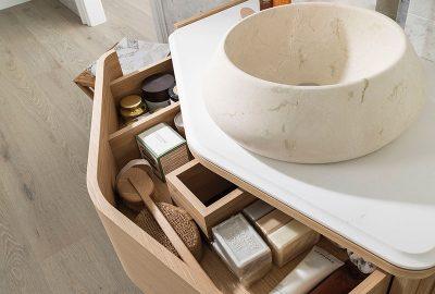 Lavabos de piedra natural, una opción elegante para tu baño