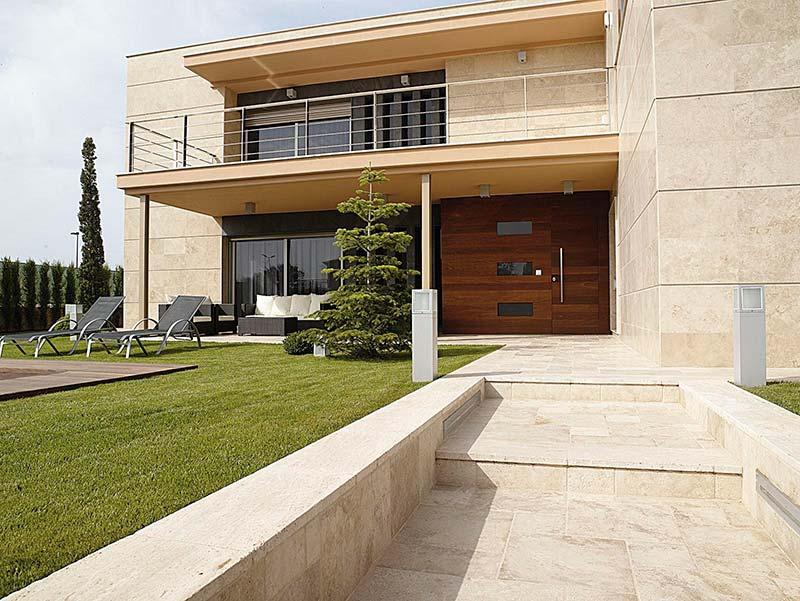 Terrasse en pierre naturelle ? Un succès !
