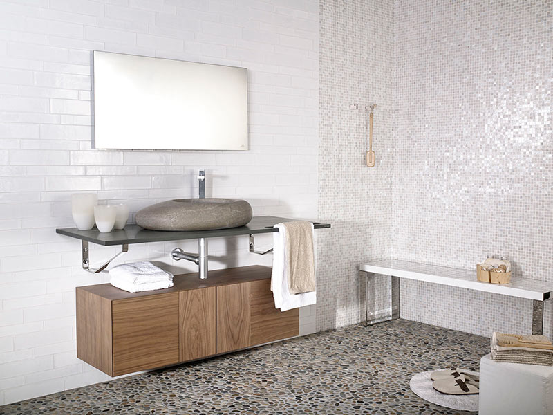 Ideas for using natural stone in your bathroom