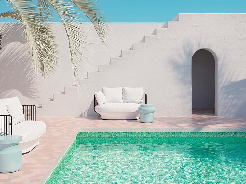 The best ideas and mosaic pool designs for your swimming pool